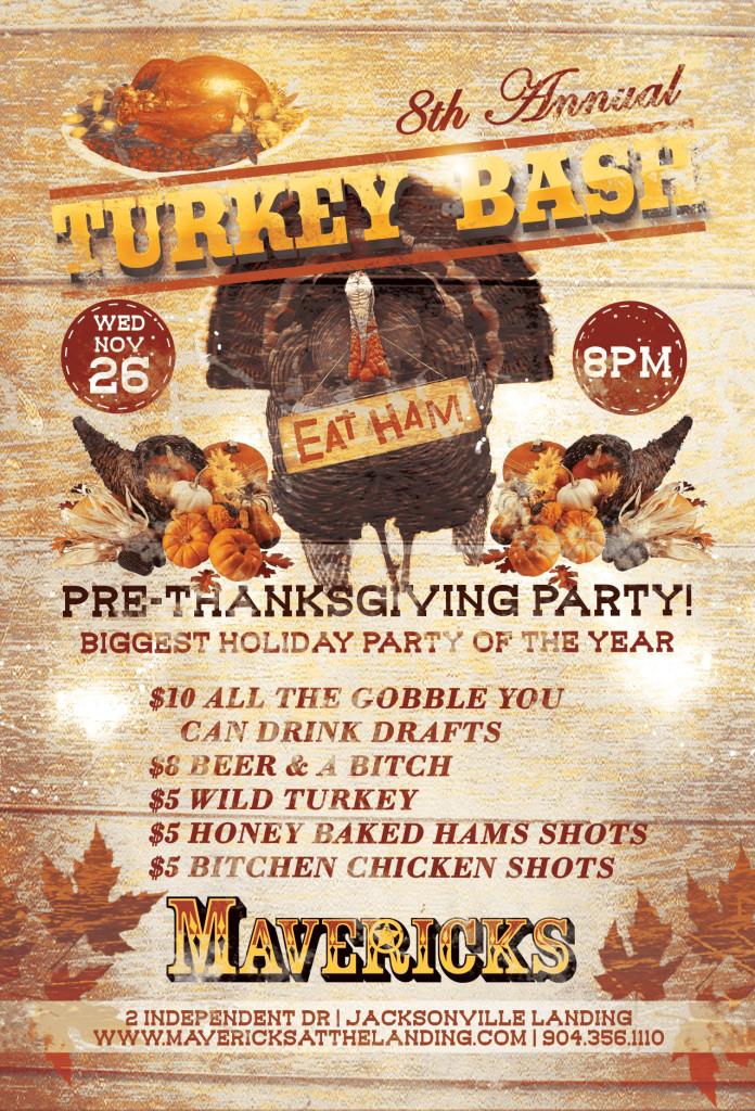 8th Annual Turkey Bash Jacksonville