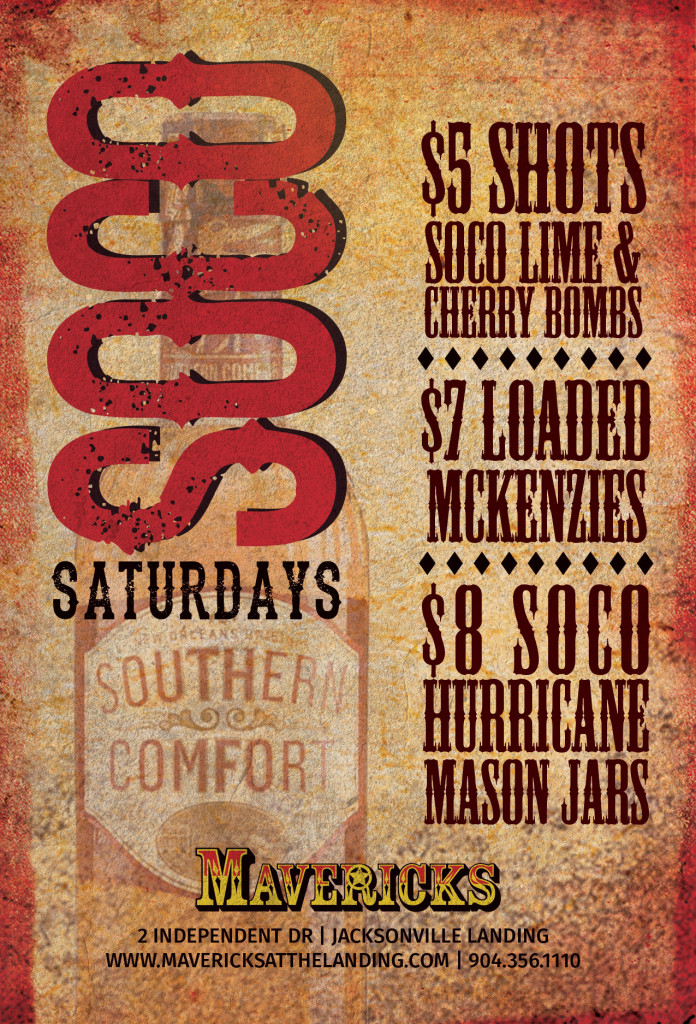 soco saturdays mavericks jacksonville