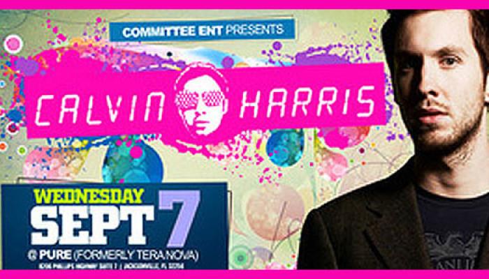 Calvin Harris comes to Jacksonville at Pure (a.k.a. Teranova)