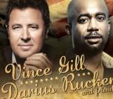 Darius Rucker and Vince Gill in Jacksonville Dec 1st