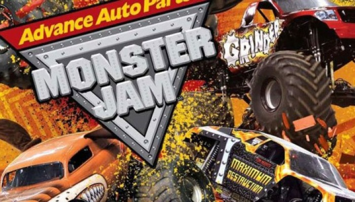 Monster Trucks at Everbank with The Advance Auto Parts MONSTER JAM