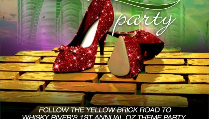 1st Annual Oz Theme Party at Whisky River