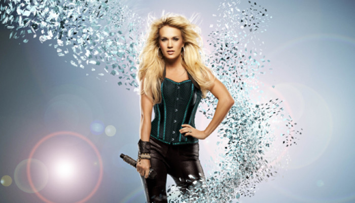 Carrie Underwood in Jacksonville for Blown Away Tour