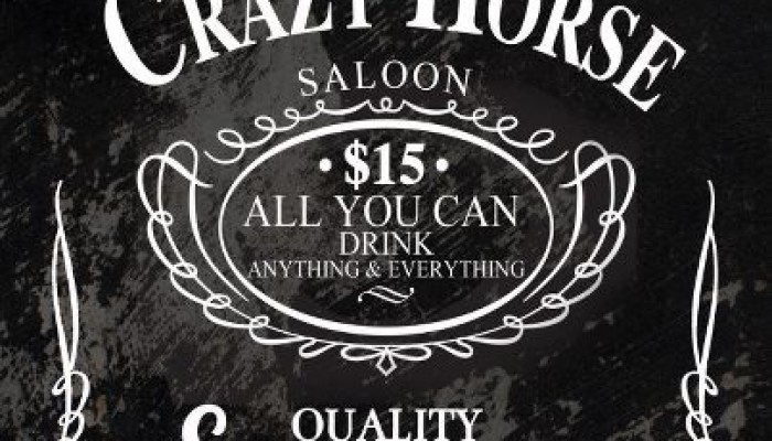 Crazy Horse Saloon of Orange Park AYCD $15
