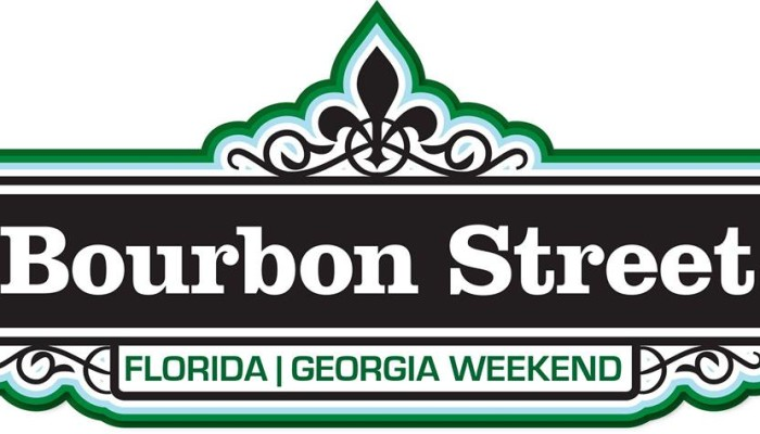 Bourbon Street Florida/Georgia Weekend – Sat Nov 2, 2013