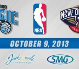 Orlando Magic and New Orleans Pelicans on Oct. 9.