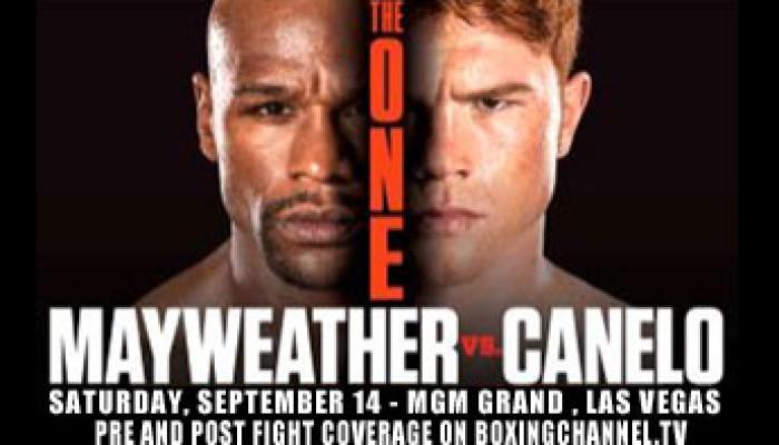 Mayweather vs Canelo