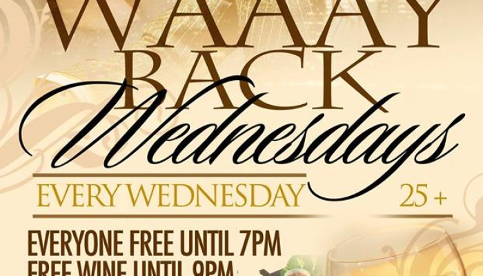 Oasis Grill & Chill WAAAY BACK WEDNESDAY