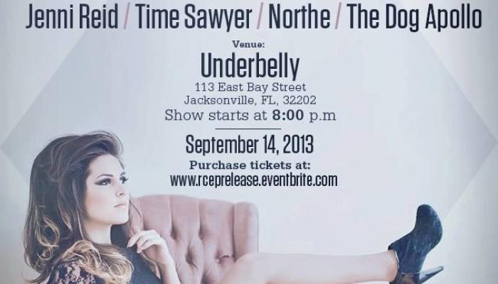 Raquel Cabrera's CD Release Party! W/ Jenni Reid/ Time Sawyer/ Northe/ The Dog Apollo