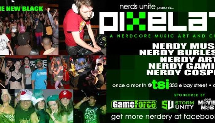 Nerds Unite presents PIXELATED 5.0
