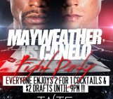 Mayweather Vs Canelo‬ TONIGHT at Taste Food Studio Tinseltown