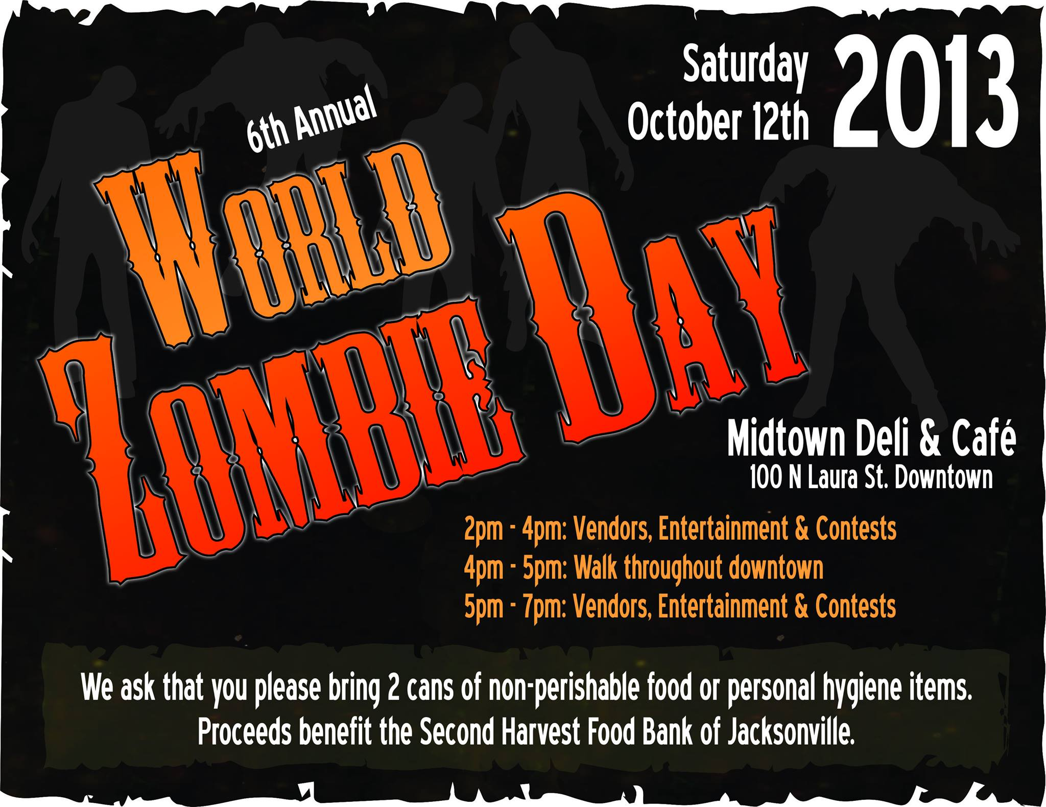 World Zombie Day 2013 Charity Walk