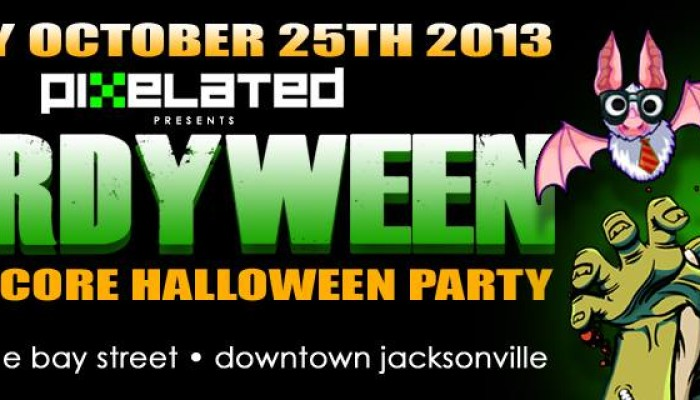 Nerds Unite presents PIXELATED 6.0 – NERDYWEEN HALLOWEEN PARTY