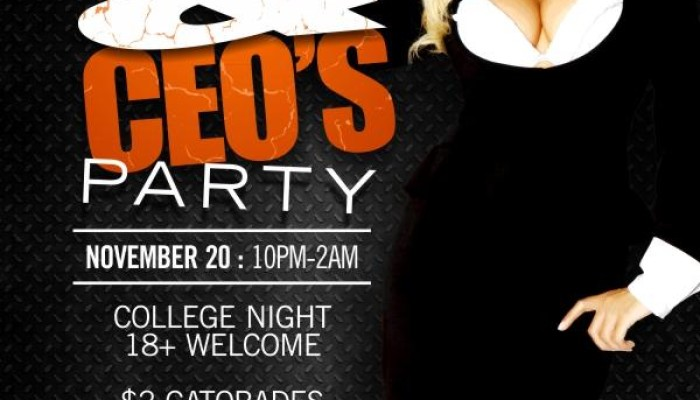 OFFICE HOES & CEOS: COLLEGE EDITION Whisky River