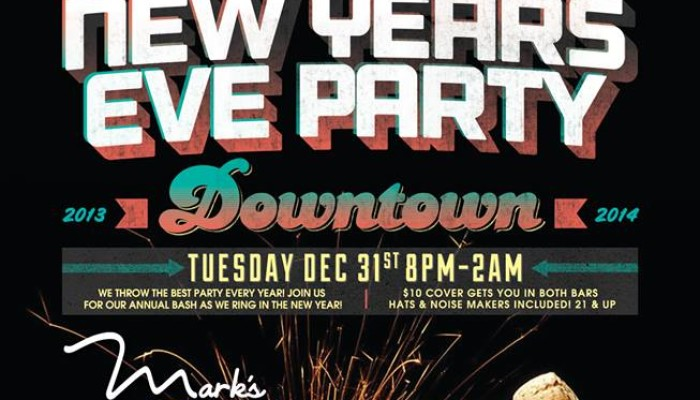 New Years Eve 2014: Mark's in Downtown Jacksonville