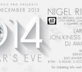 New Years Eve 2014: Nigel Richards