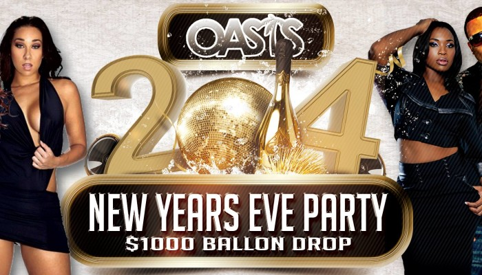 NEW YEARS EVE 2014: OASIS $1000 BALLOON DROP
