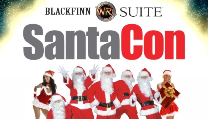 SantaCon 2013 – Blackfinn, Whisky River and Suite