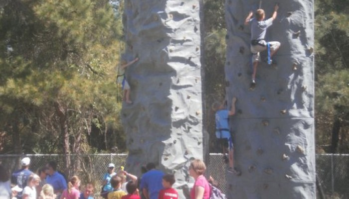 Rock Climbing wall Rental in Jacksonville