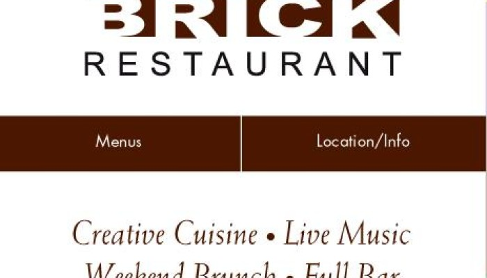 The Brick Restaurant presents…
