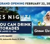 Ocean Grille And Bar – Ladies Night Sun Feb 23, 2014
