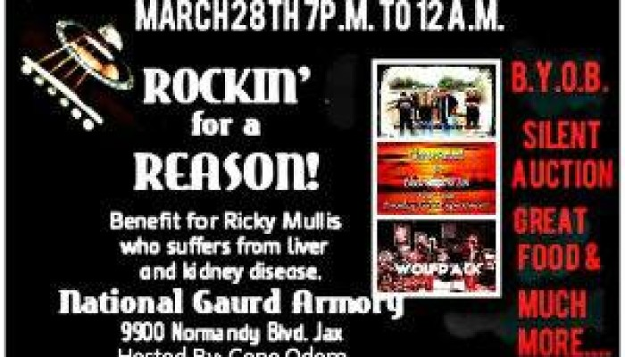 ROCKIN FOR A REASON with GENE ODOM Mar 28