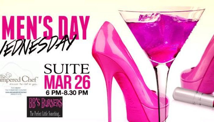 Women's Day Wednesday at Suite