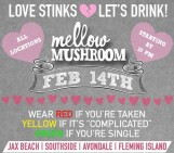 Valentines Day 2015: Mellow Mushroom
