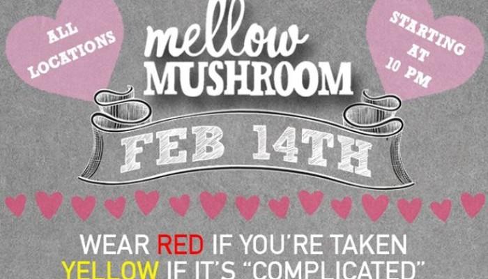 Valentines Day 2015: Mellow Mushroom
