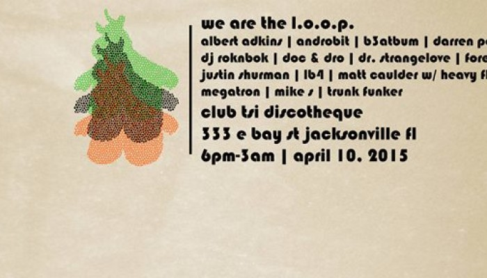 we are the l.o.o.p. **Friday Night Underground Dance Music during One Spark**
