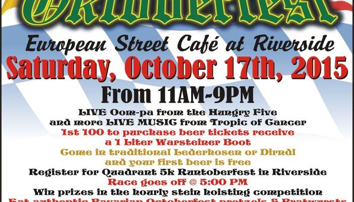 Oktoberfest European Street Cafe