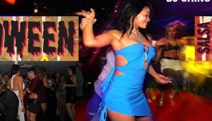 halloween salsa event