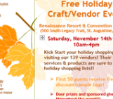 Holiday Craft Event at Renaissance World Golf Village Resort