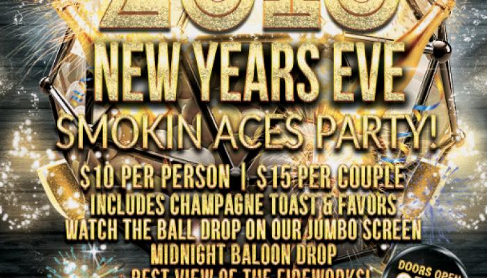 New Years Eve 2016 Smokin Aces Party |  Jacksonville Landing Mavericks