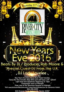 New Years Eve 2016 at River City Brewing Company