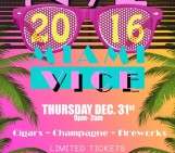 New Years Eve 2016: NYE 2016 Miami Vice in Jacksonville