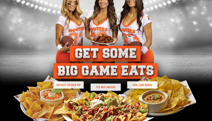 Big Game 2016: Hooters at Jacksonville Landing