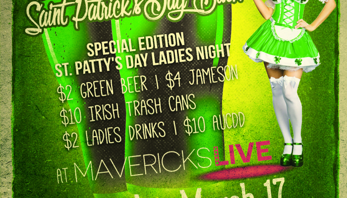 St. Patricks Day 2016: St. Patty's Day Bash
