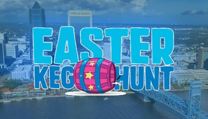 River City Brewing Company Easter Keg