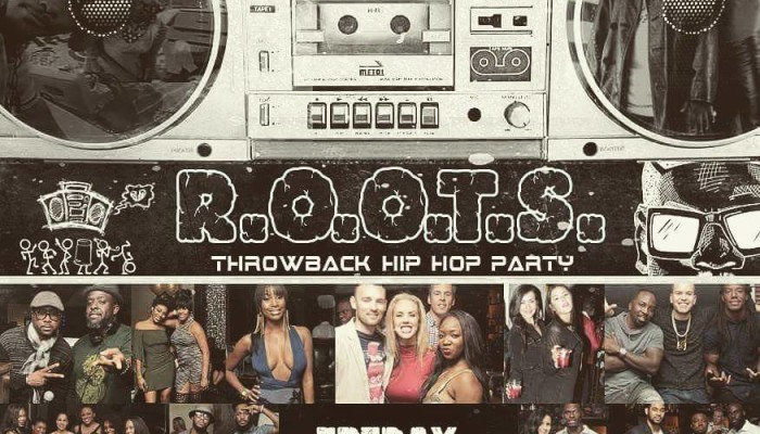 R.O.O.T.S Throwback Hip Hop Party