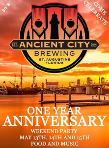 St Augustine Brewing Company 1 year