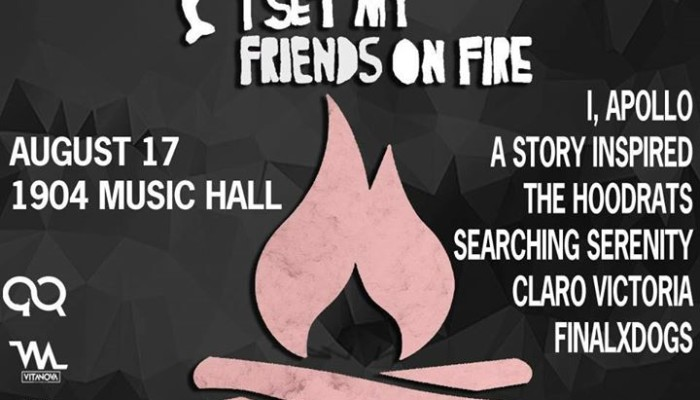 I Set My Friends On Fire at 1904 Music Hall Jacksonville
