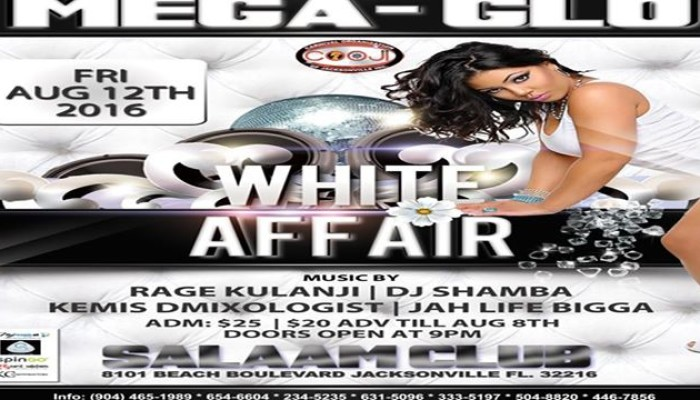 MEGA GLO – A Wear White Affair Jacksonville