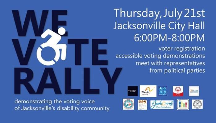 We Vote Rally Jacksonville