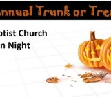 Halloween 2016  Trunk or Treat Jacksonville