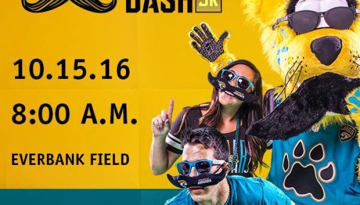 Stache Dash w Jaxson De Ville on October 15