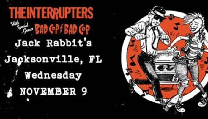 The Interrupters at JackRabbit's | Wed Nov 3