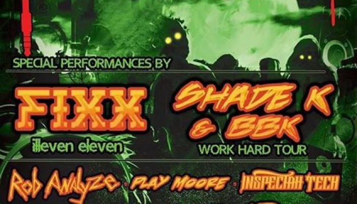 Night of the Living BASS *** Featuring DJ Fixx, Shade K & BBK Jacksonville