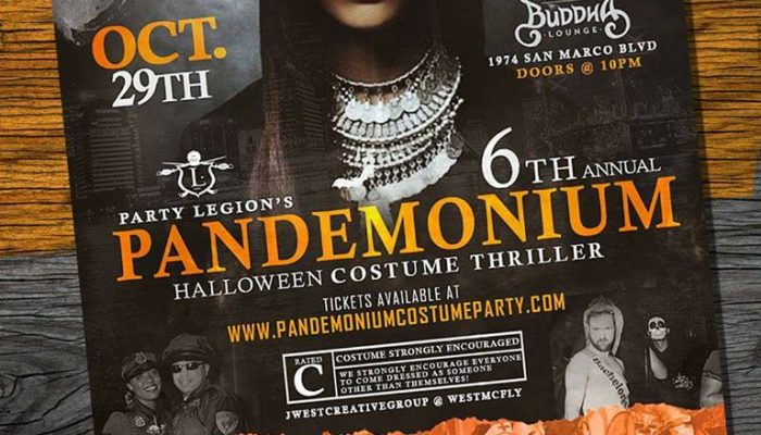 Halloween 2016: Pandemonium Costume Thriller | Sat Oct 29