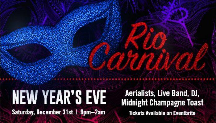 New Years Eve 2017: Rio Carnival at BlackFINN